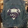Painted Diamond Head Vest  Battle Jacket