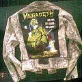 Battle Jacket - Megadeth Denim Jacket