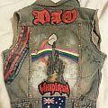 Rainbow - Battle Jacket - My Battle Jacket - DIY Paint Job on Back