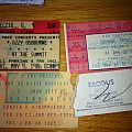 Dio - Other Collectable - Old Metal Ticket Stubs 1985-1993