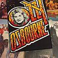 Ozzy Osbourne - Patch - Ozzy Osbourne  vintage  backpatch