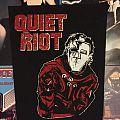 Quiet Riot metal heath backpatch