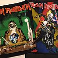 Iron Maiden backpatches seventh son maiden england