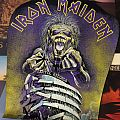 Iron Maiden - Patch - huge Iron Maiden capital records backpatch giant
