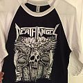 death angel 2010 tour shirt jersey