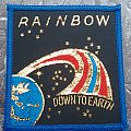 Rainbow - Down To Earth Patch