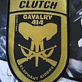 Clutch Elephant Riders Shield Patch