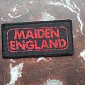 Iron Maiden - Maiden England Patch