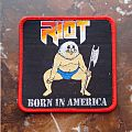 Riot - Born in America Patch
