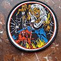 Iron Maiden - The Number Of The Beast Bootleg Patch
