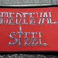Woven Medieval Steel Logo Patch