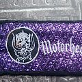 Motörhead - Purple Logo Patch