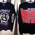 (Original) Napalm Death Grind Crusher 1991 TShirt or Longsleeve