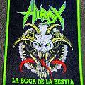 Hirax - La Boca De La Bestia Patch