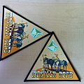 Manilla Road - Crystal Logic triangle patch
