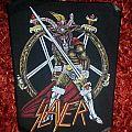 Slayer - Patch - Slayer  Backpatch Show No Mercy  for Nocturnospoko