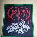 Obituary Pile Of Skulls Woven Bootleg Patch