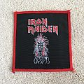 Iron Maiden s/t Patch Red Border