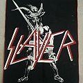 Slayer - Patch - Slayer Show No Mercy Backpatch Vtg