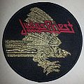 Judas Priest Screaming For Vengeance Circle Patch for Axehead