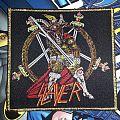 Slayer Show No Mercy Golden Border Patch