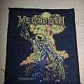 Megadeth - Patch - Megadeth Nuclear Patch 1987