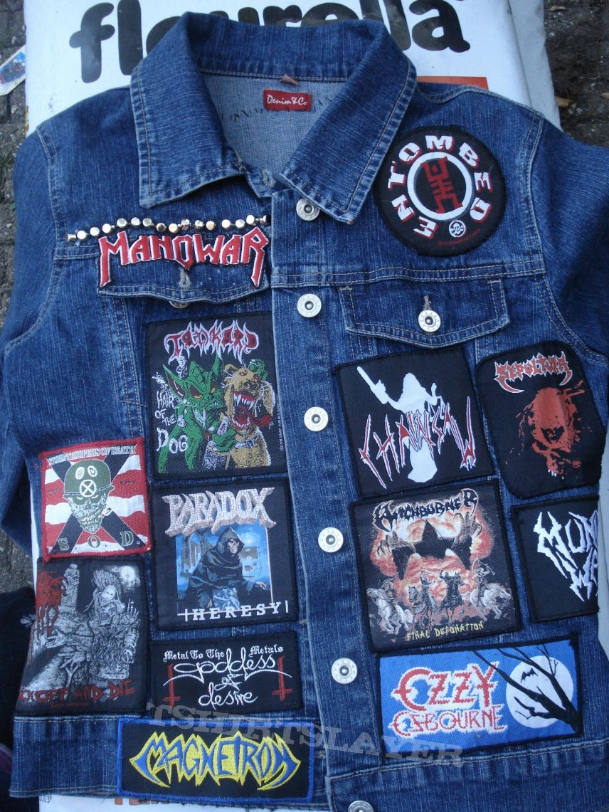 My patch jacket at the moment