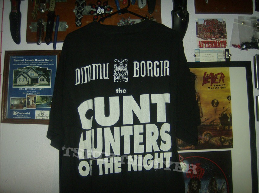 Cunt Hunters Of The Night Tshirtslayer Tshirt And Battlejacket