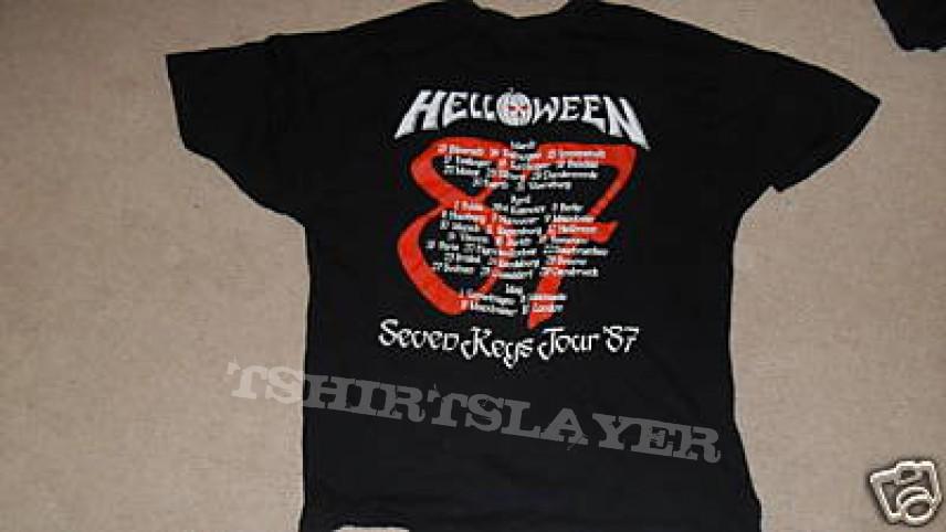 Helloween - Keeper I tour