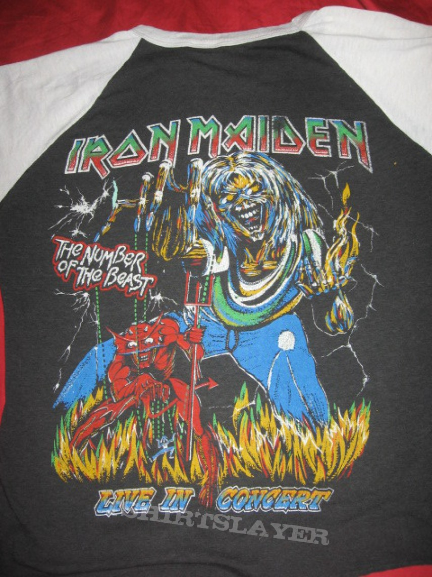 Iron Maiden World Peice Tour Shirt (Bootleg) | TShirtSlayer TShirt