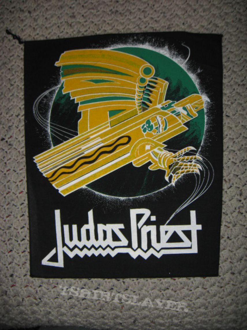 Judas Priest Screaming for Vengeance Back Patch | TShirtSlayer