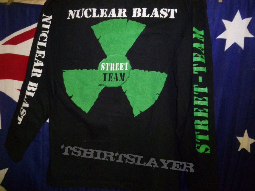 Nuclear blast records promo shirt