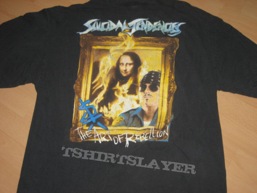 Suicidal tendencies the art of rebellion euro tourshirt suicidal tendencies the art of rebellion euro tourshirt thecheapjerseys Images