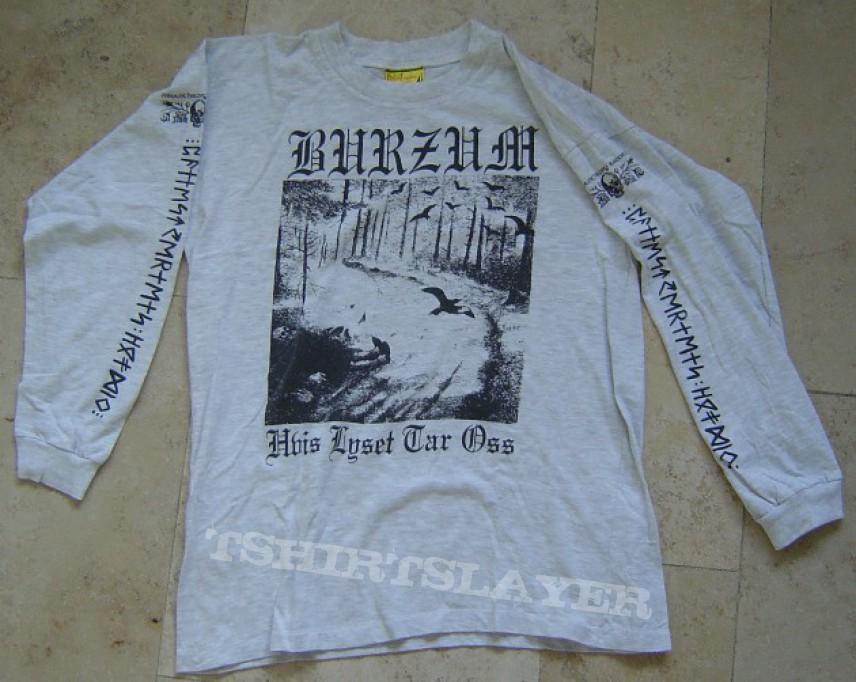 "Burzum ""Hvis Lyset Tar Oss"" grey shirt!! | TShirtSlayer ..."