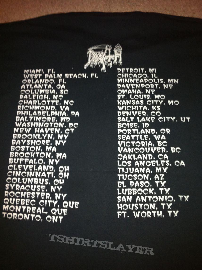 Shirt design victoria bc - Death Spiritual Healing Vintage Us Tour Shirt