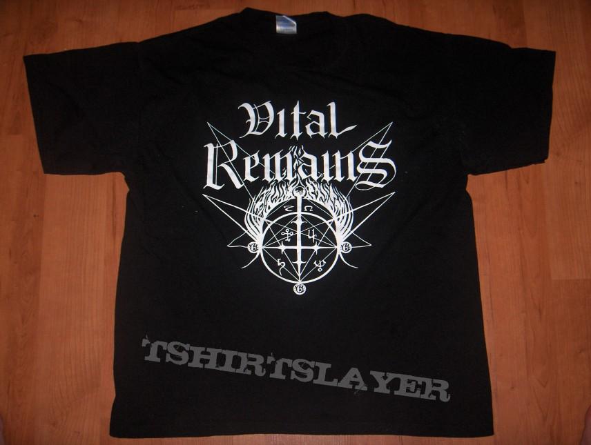 Vital Remains Old School Death Metal T Shirt