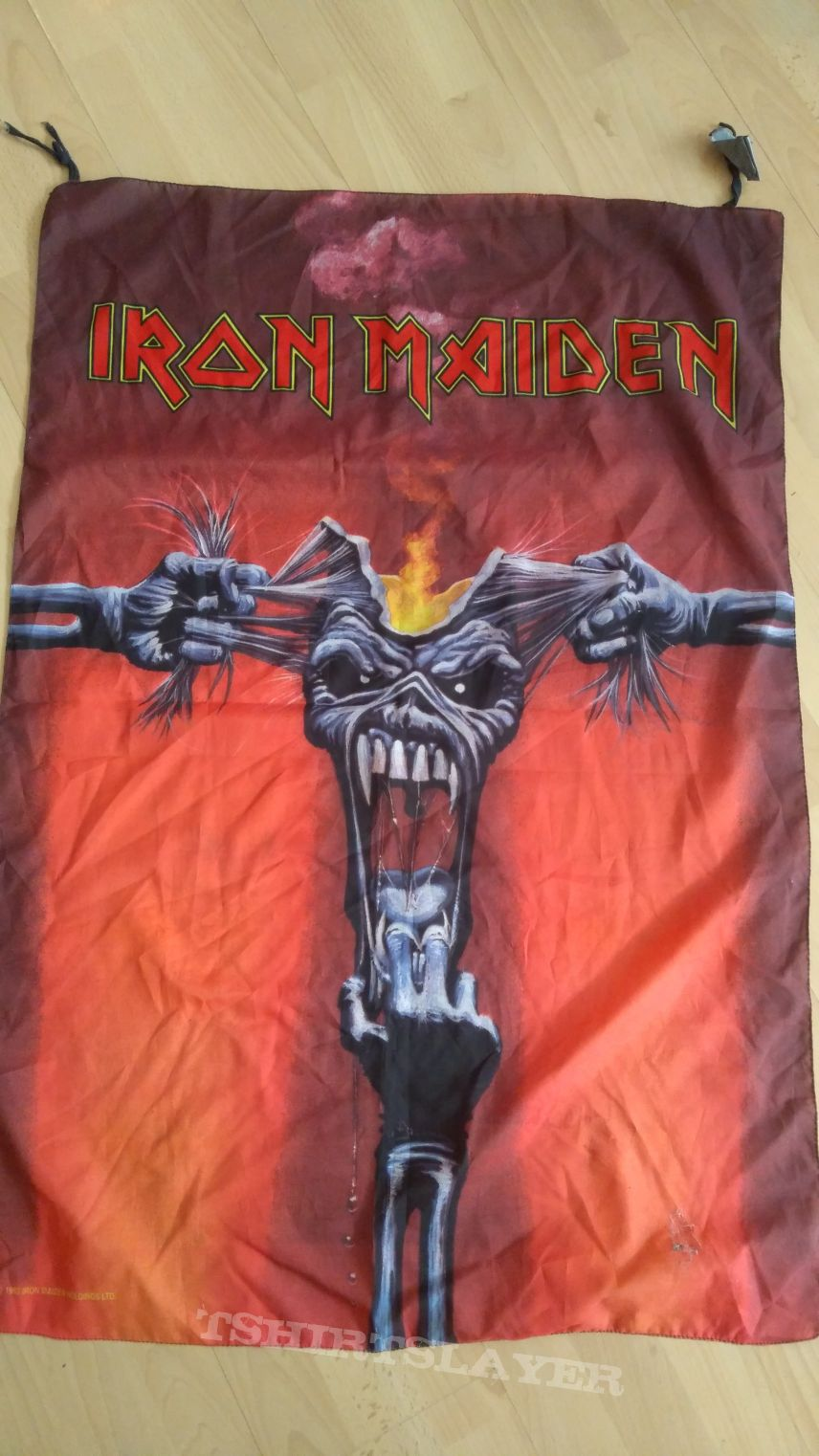 Official iron maiden flag