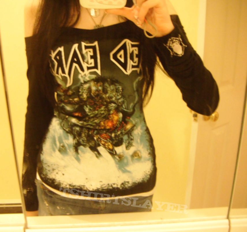 Long Sleeve Iced Earth Shirt  acca64212a