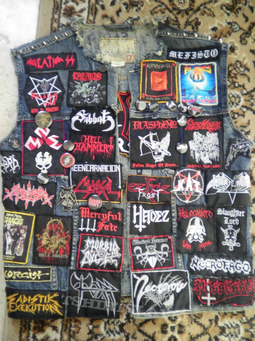 First Wave of Black Metal Vest