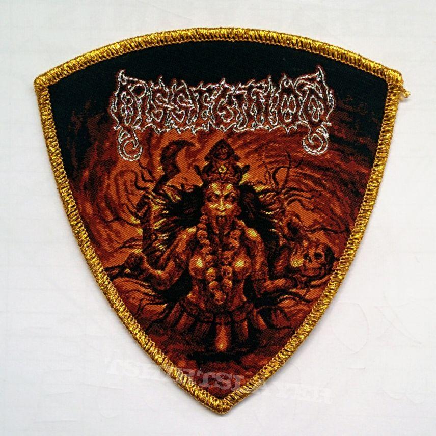 "DISSECTION ""Mahakali"" Woven Patch"