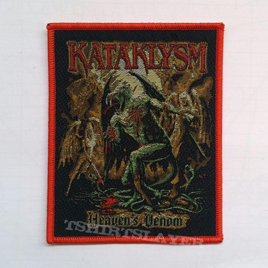 "KATAKLYSM ""Heaven's Venom"" Woven Patch"