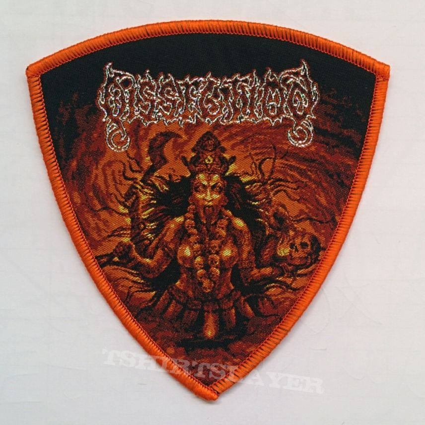 "DISSECTION ""Mahakali"" Woven Patch"