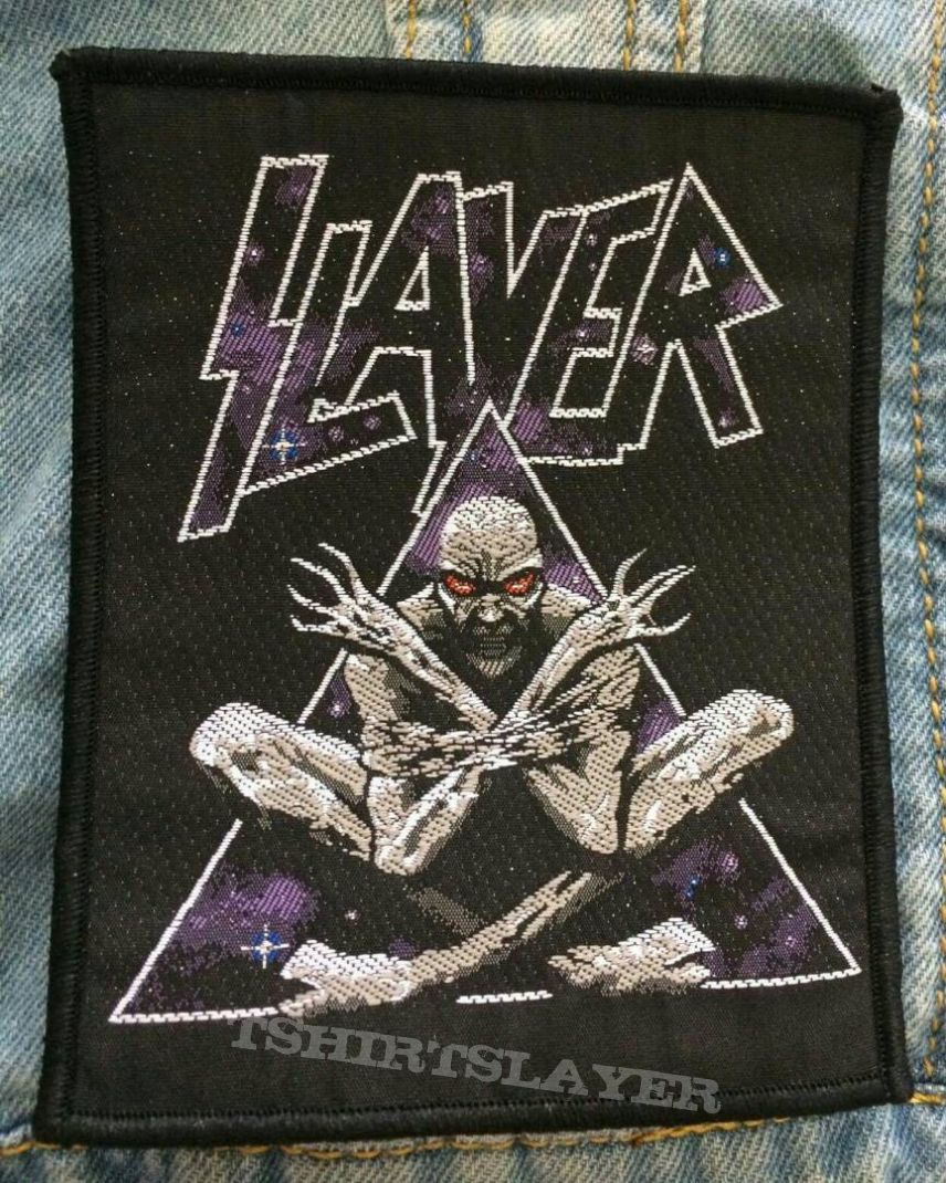 """SLAYER """"Divine Intervention"""" Woven Patch 
