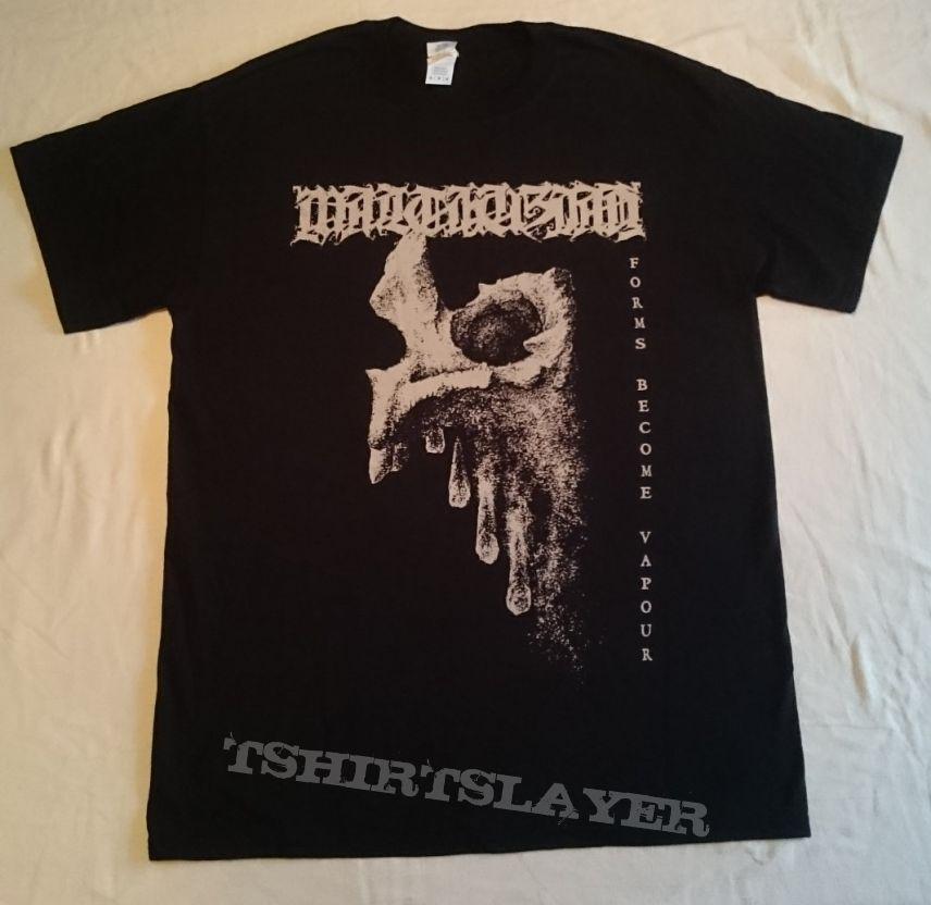 """Malthusian """"Forms Become Vapour"""" Tour T-shirt"""