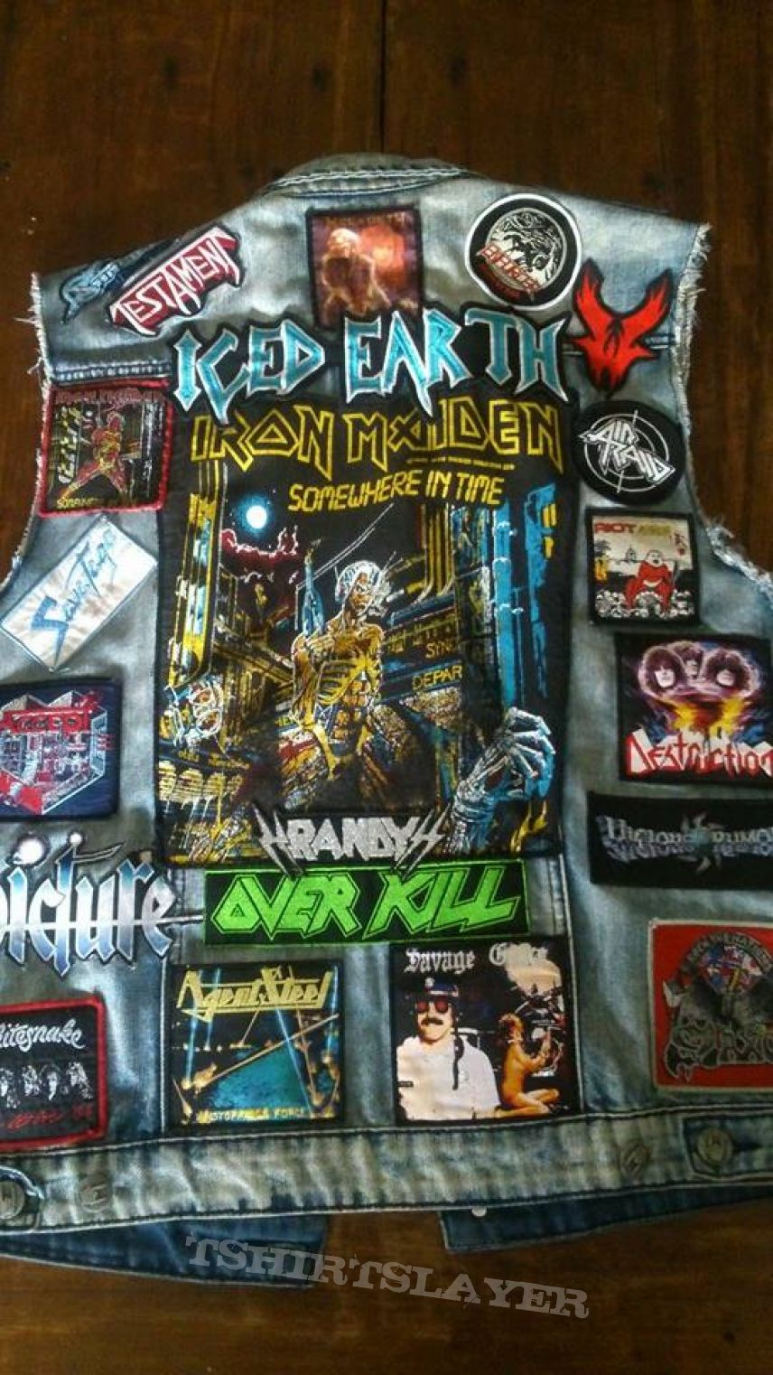 My patch jacket update