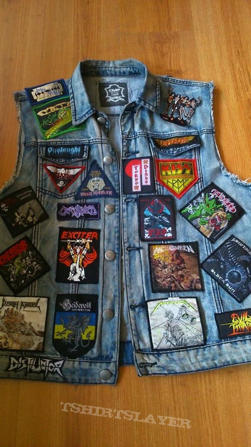 My patch jacket