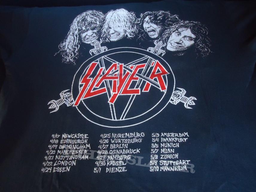 Slayer World Tour  Shirt