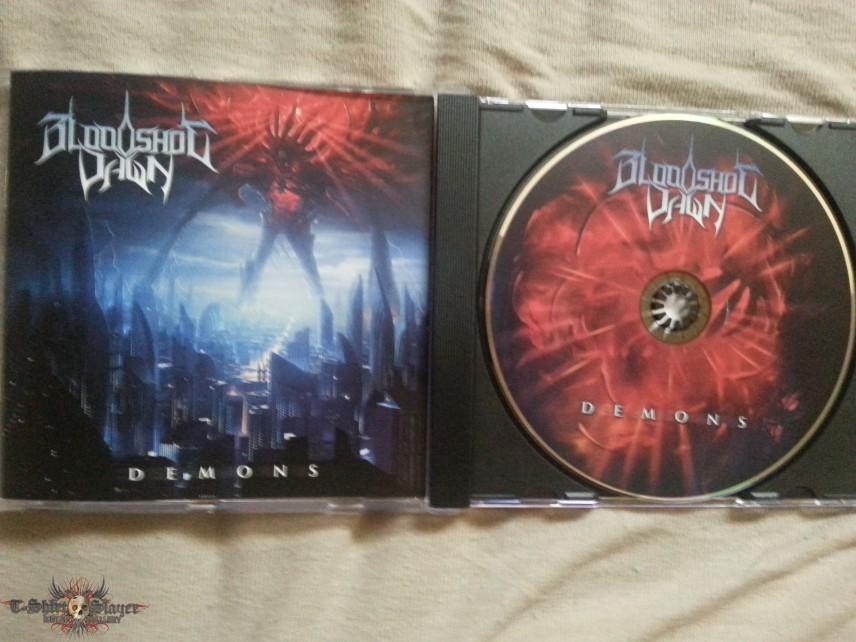 Bloodshot Dawn - Demons Cd (2014)