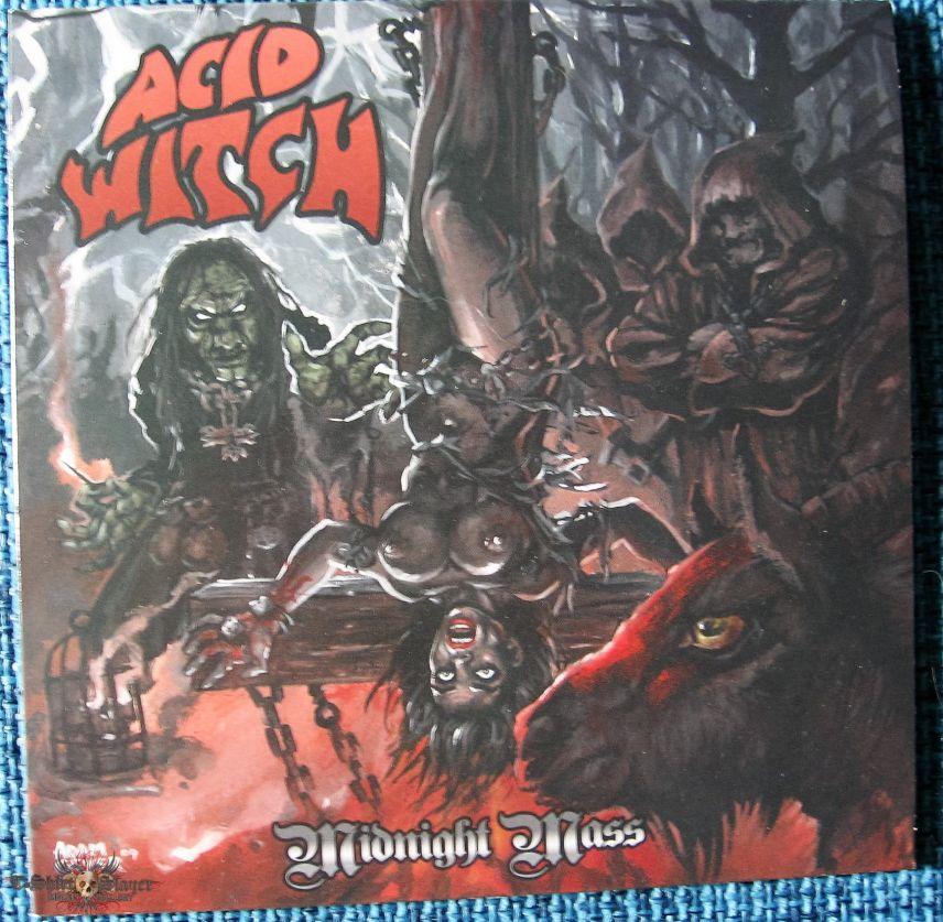 "Acid Witch – Midnight Mass  Vinyl 7"""