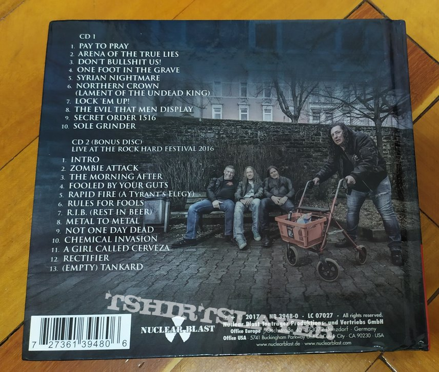 Tankard - One Foot In The Grave digibook